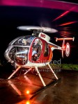 Matt Newton. Helicopter Pilot, Farmer. Landing on a wet, late night, mission, Urenui, New Plymouth (54128QF00)
