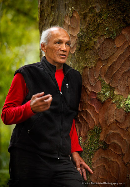 Kevin Prime. NZ Conservationist of the Decade, Maori affairs, leader. Story portrait by Rob Suisted