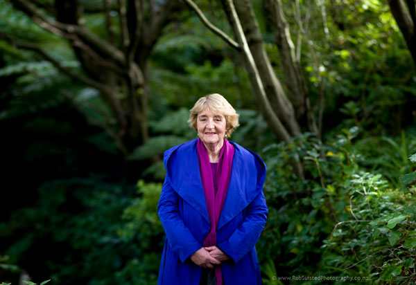Dr Jan Wright, Parliamentary Commissioner for the Environment. Story portrait by Rob Suisted