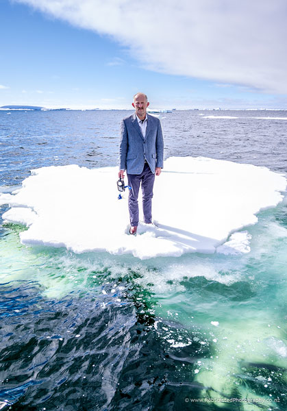 Gareth Morgan, climate change advocate, among many other things. Story portrait by Rob Suisted