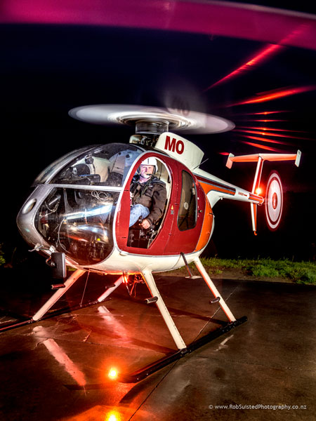 Matt Newton. Helicopter Pilot and farmer. Story portrait by Rob Suisted
