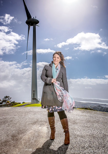 Lisa McLaren, Climate Change Advocate, future leader. Story portrait by Rob Suisted