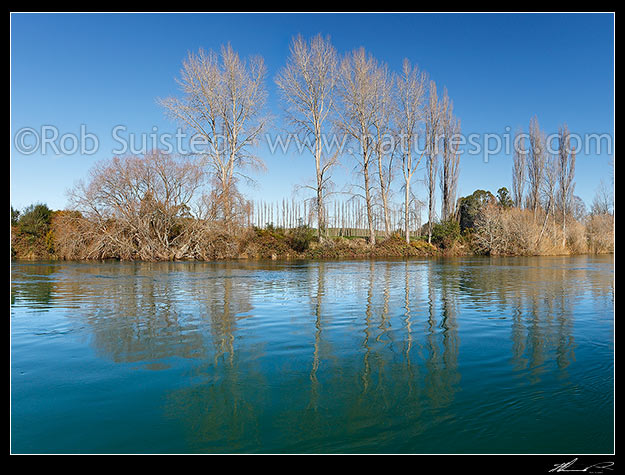 Waikato River, Winter season