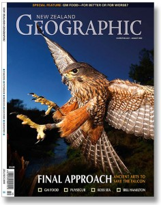 New Zealand Geographic Magazine Cover this month