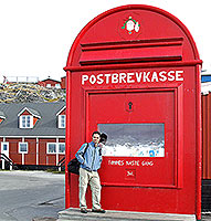 Santa's Post Box in Nuuk, Greenland