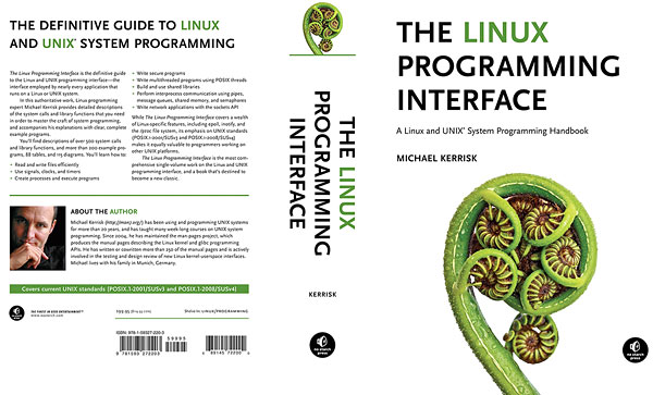 Linux book cover, photo by Rob Suisted