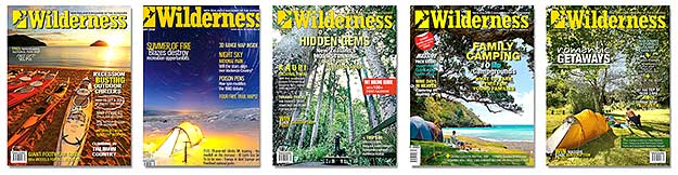 Wilderness Magazine covers by Rob Suisted