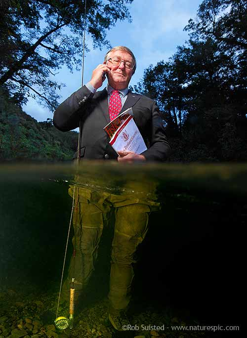 Bryce Johnson portrait, NZ Fish and Game Council CEO
